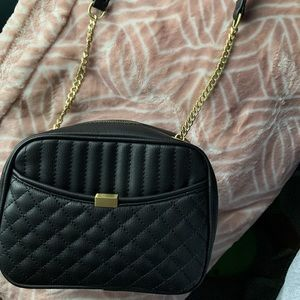 Zara Small Purse with Gold Accents